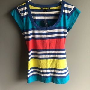 French Connection Striped Tee